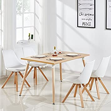 Table A Manger 120 Cm.Designetsamaison Table A Manger Rectangulaire Scandinave Bois 120cm Brevik