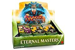 Draft Through EternityTake a step outside time with Eternal Masters. This exciting set lets you draw on some of the most sought-after cards from throughout the history of Magicsome with new artworkto enhance your Cube or your favorite Command...