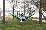 Favorland Camping Hammock Double & Single with Tree