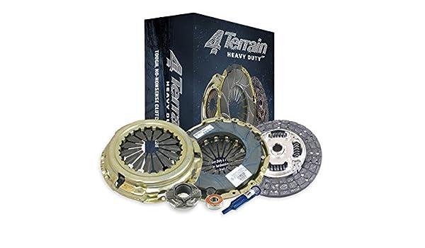 4Terrain Heavy Duty Premium Clutch Kit | ER2 Heavy Duty Cover Assembly | Heavy Duty Clutch Plate | Release bearing | Clutch Alignment Tool | Spigot Bearing ...