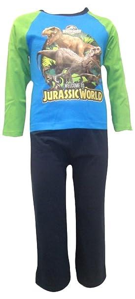 Jurassic World - Pijama dos piezas - Manga Larga - para niño Multicolor multicolor