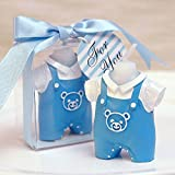 Cartoon Romantic Childhood Clothes Charming Gifts Party Candles Smokeless Candles Birthday Candles for Baby Shower and Wedding Favor Keepsake Favor (5, Boys clothes)