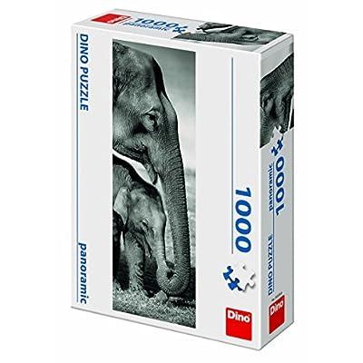 Dino Giocattoli 545366 Puzzle Elefanti Panoramic Giocattolo
