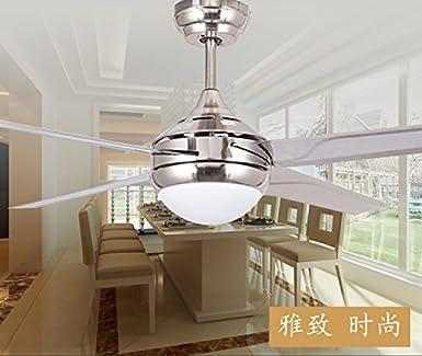 Ventilador, ventilador de techo, lámpara de salón lámpara de techo ...