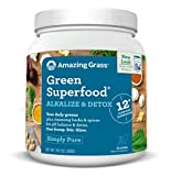 Amazing Grass Green Superfood Alkalize & Detox, 100 Servings, 28.2 Ounces