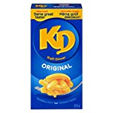KD Kraft Dinner Original Macaroni and Cheese, 225g