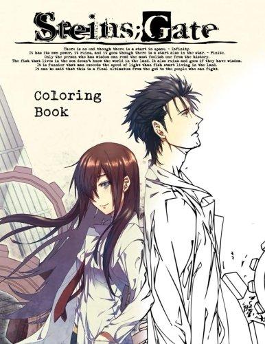 Steins; Gate Coloring Book - Stein Gate Manga