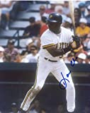 DAVE CLARK PITTSBURGH PIRATES SIGNED AUTOGRAPHED UP TO BAT 8X10 PHOTO W/COA