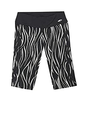 Babalu Store Jacquard Bike Shorts Black