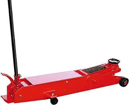 Amazon Com Big Red T80501 Torin Hydraulic Heavy Duty Long Frame Service Floor Jack With Foot Pedal 5 Ton 10 000 Lb Capacity Red Automotive