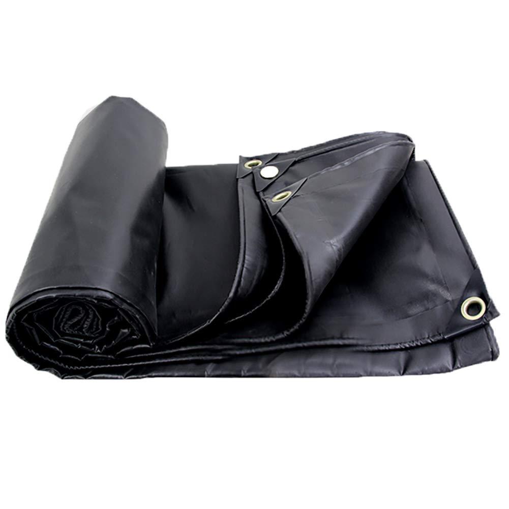 Plane Schwarze schwarzout Regen Leinwand Wasserdicht Sonnenschutz Regen Tuch Markise Tuch