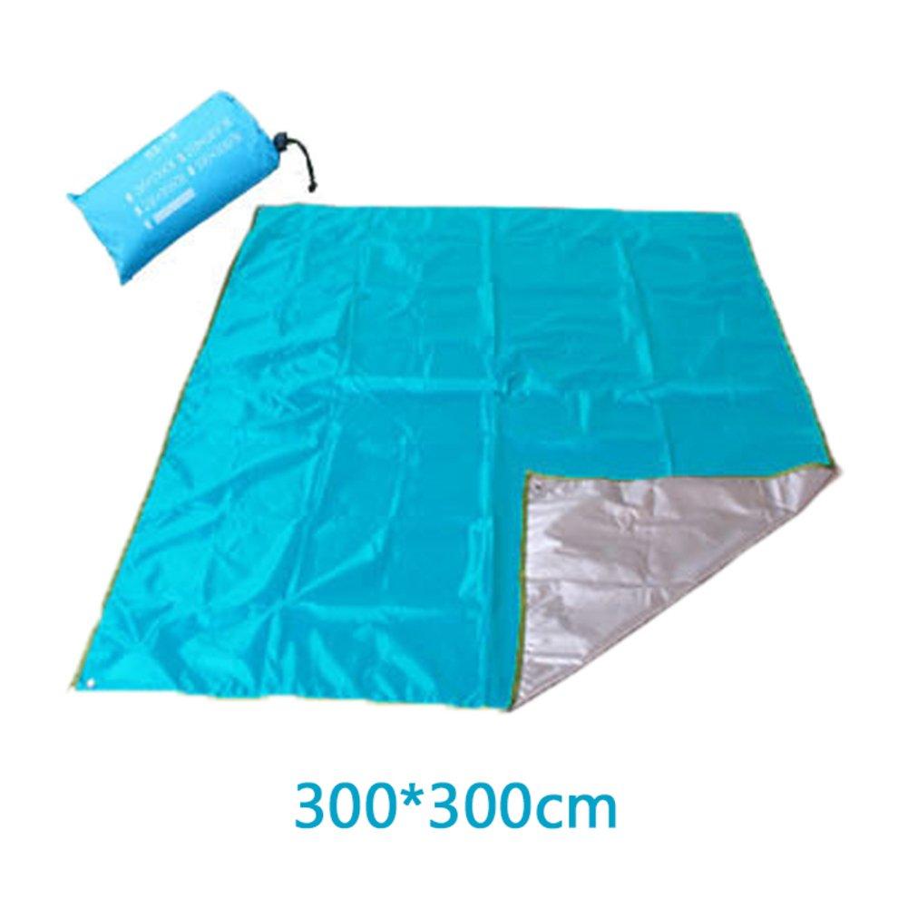 Wasserdichte Portable Beach Blanket Picknickdecke, Pocket-Decke Pocket-Decke Pocket-Decke Reise Picknickdecke Kompakt-tarp Camping Decke-A 300x300cm(118x118inch) B07FX4FY76   Hochwertige Materialien  80ae29