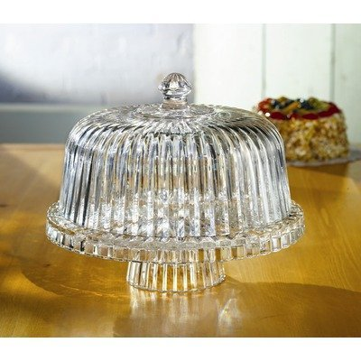 Crystal Clear Alexandria 12-Inch Domed Cake