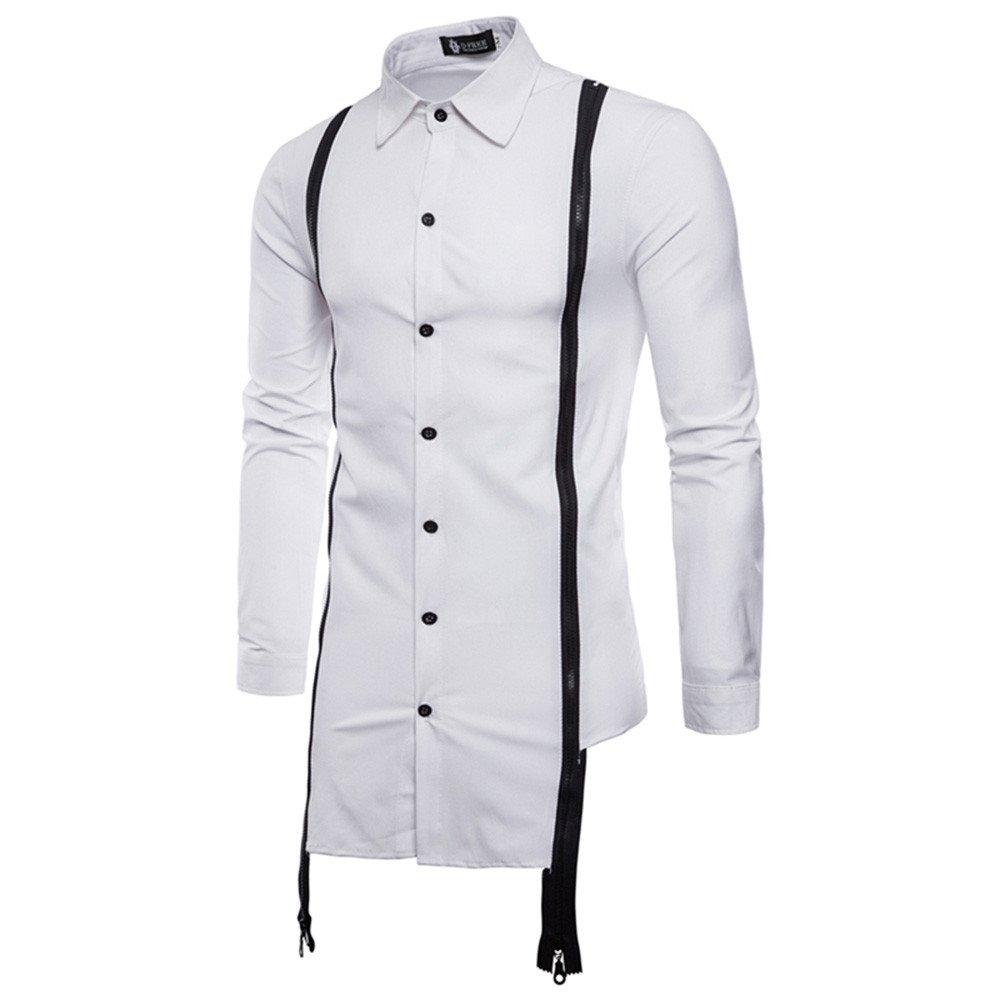Rawdah_Camisas Hombre Camisas De Hombre Manga Larga Camisas De Hombre Blancas Camisas De Hombre Talla Grande Camisas Hombre Slim Camisas Hombre Manga Larga ...