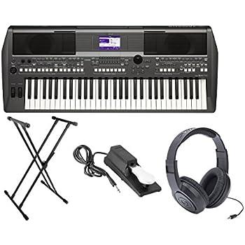 Yamaha psr series psrs750 61 key portable for Yamaha keyboard amazon