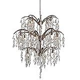Metropolitan N6867-278 Bella Flora Chandelier, 16-Light Xenon 640 Total Watts, Silver Mist For Sale