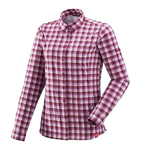 Ls Chemise Biwa Velvet Ld Millet Red Stretch Femme Shirt w16UIp