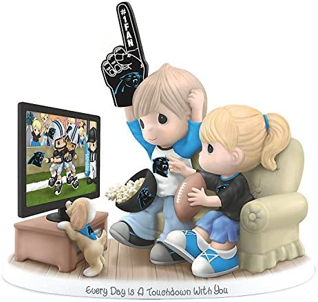 The Hamilton Collection Figurine Precious Moments Every Day is A Touchdown with You Panthers Figurine