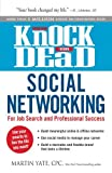 img - for Knock 'em Dead Social Networking: For Job Search and Professional Success by Martin Yate CPC (2014-06-18) book / textbook / text book