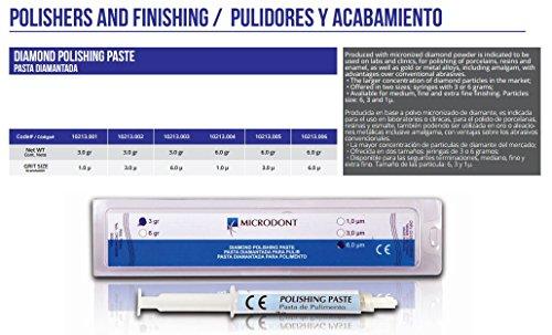 Microdont MU- 10213005 Diamond Polishing Paste, 6