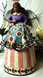 Retired Heartwood Creek By Jim Shore ''Stitched with Love'' Quilting Angel Figurine