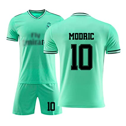HSLIUYIAO Luka Modric Camiseta De Fútbol Real Madrid Club De ...