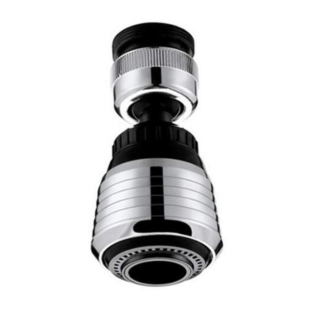 VCGREE New Style Deluxe 360-Degree Function Swivel Super Sprayer, Kitchen Sink faucet Aerator, Water Saving Flow 1.5 GMP, Polished Chrome (Short paragraph)