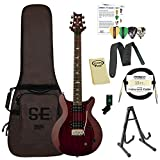 PRS-STCSVC-KIT-01 PRS SE Santana Standard Vintage Cherry Electric Guitar with PRS Gig Bag, Stand, Tuner, Picks, Cable, Strap, Cloth