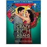 Crazy Rich Asians  (Bilingual) [Blu-Ray + DVD + Digital]