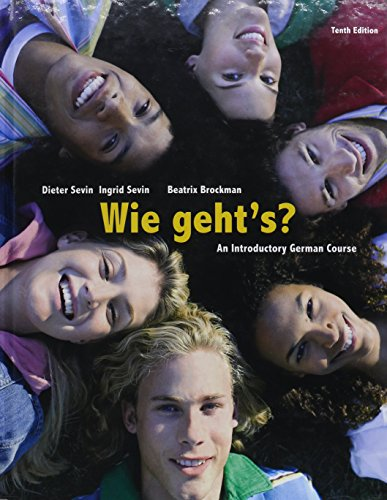 Bundle: Wie geht's?, 10th + iLrn Heinle Learning Center Printed Access Card
