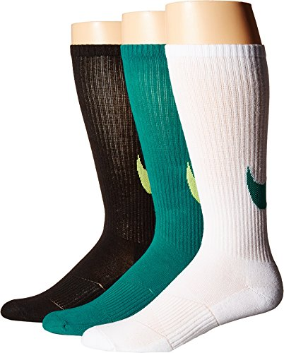Nike youth 3-Pack Graphic Cotton Cushion Multi Color(Small) by NIKE