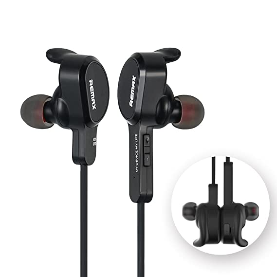 Amazon com: Remax - RB-S5 Sports Magnetic Earbuds Wireless