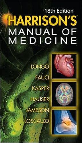 harrisons manual of medicine 18th edition amazon co uk dan l rh amazon co uk harrison's manual of medicine 18th edition pdf free harrison's manual of medicine 18th edition pdf free