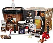 Brewferm Buckrider Belgian Homebrewing Premium Deluxe Brew Kit - Sacred Saison Premium Deluxe Craft Brew Mix -