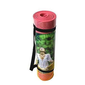 Yoga Mat 8Mm Non-Slip Padded Sports ... - Amazon.com