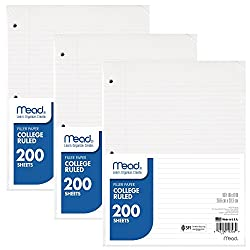 Image of the product Mead Loose Leaf Paper that is listed on the catalogue brand of Mead.