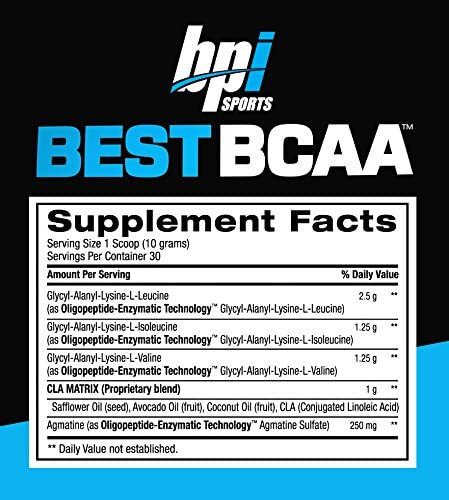 BPI Best BCAA – Grape – 30 Servings
