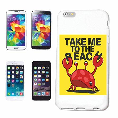 caja del teléfono iPhone 6+ Plus Llévame hacia el cangrejo de la playa CÁNCER DE LANGOSTA Caña de pescar pesca en alta mar pesca pescados redes de pesca Barco de pesca Barco MAR CHOP pesca con caña