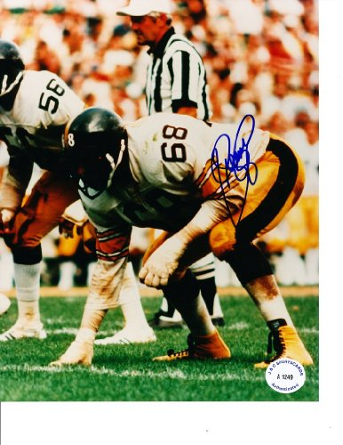 Steelers Greenwood Lc (Pittsburgh Steelers LC Greenwood Autographed 8x10 Photo)