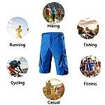 X-TIGER-Pantaloncini-da-Montagna-MTB-Uomo-e-Donna-Pantaloncini-Ciclismo-Biciclette-Bici-MTB-Pantaloni-Traspirante-Shorts-per-Ciclismo-da-Corsa-Allaperto