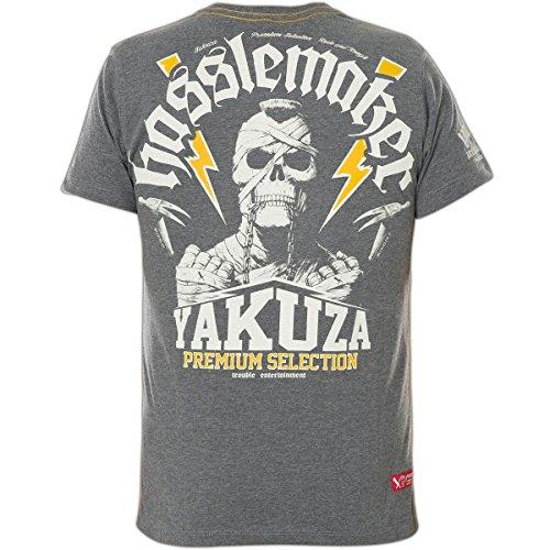 Yakuza Premium T-Shirt YPS-2119 Grau, M