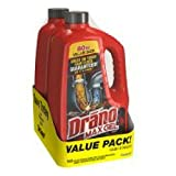 Drano Max Clog Remover Twin Pack, 160 Ounce (3 Pack (160 Ounce))