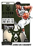 2018-19 Panini Contenders Season Ticket #11 Giannis Antetokounmpo Milwaukee Bucks Basketball Card