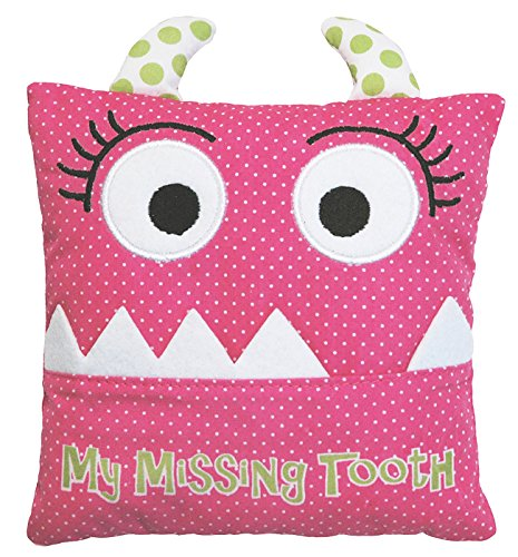 Little Girl's Pink Tooth Fairy Pillow by Almas Designs