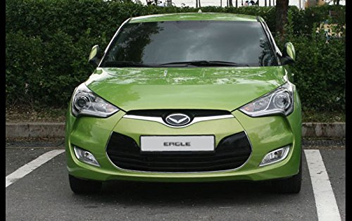 Eagle Emblem Grille+Trunk Badge 2Ea For Hyundai 2011-2015 Veloster Sold By Good Forum