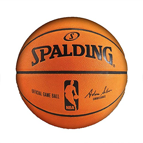 Spalding NBA Leather Game Ball Official by Spalding