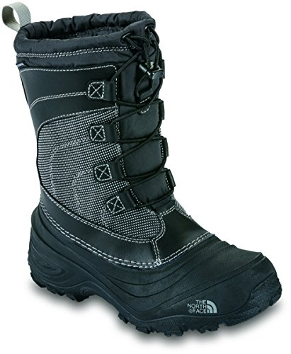 The North Face Youth Alpenglow IV Hiking Boots - Kid's TNF Black/TNF Black 12