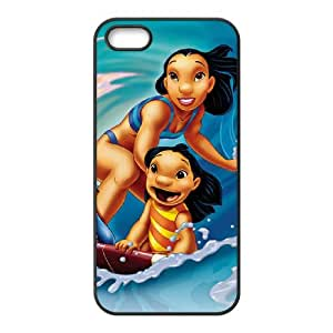 Lilo & Stitch iPhone 5 5s Cell Phone Case Black E1324632
