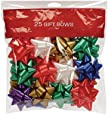Gift Bows 25 Count Medium Peel N Stick