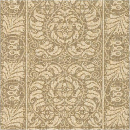 Safavieh Courtyard Collection CY5146B Coffee and Sand Indoor/ Outdoor Area Rug (6'7